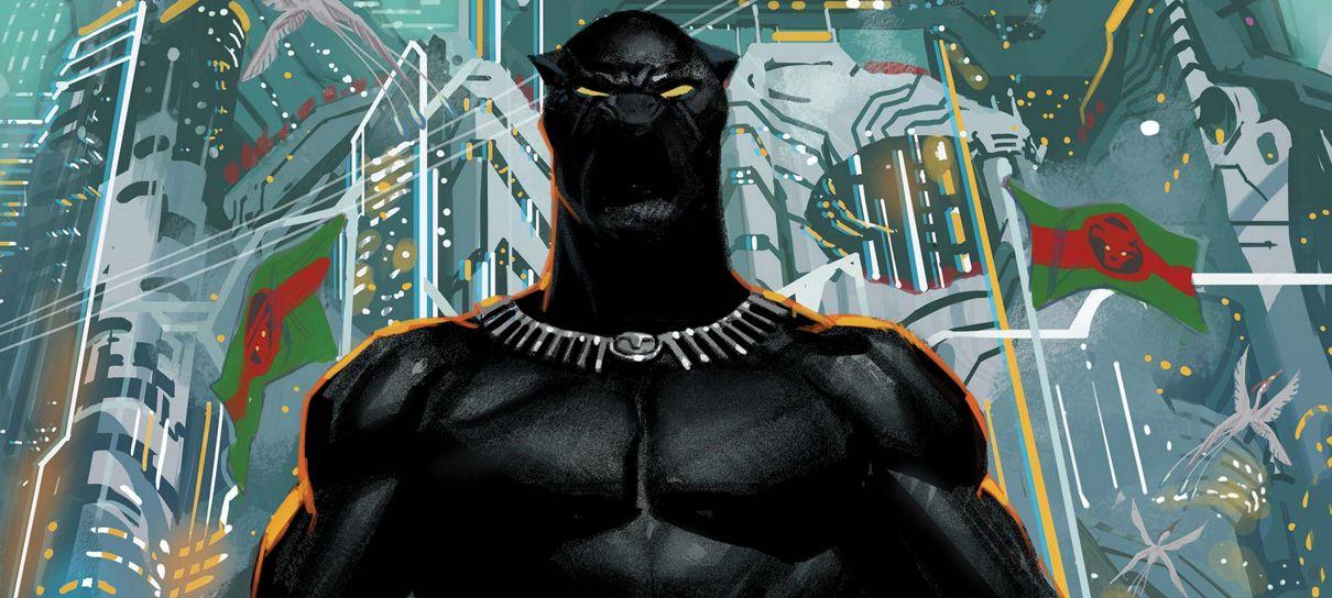268 quadrinhos de Pantera Negra estão grátis na Amazon Comixology