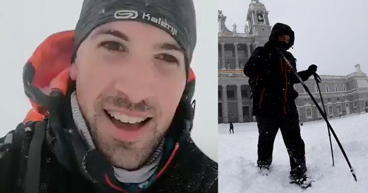 Esse médico caminhou 17 km em uma tempestade de neve para trabalhar no hospital. Os pacientes valem a pena!