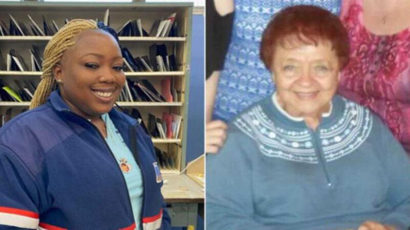 Após perceber acúmulo de cartas, entregadora salva vida de idosa que caiu sozinha em casa nos EUA