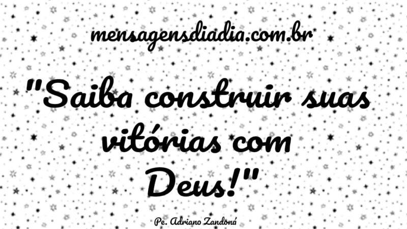 Construir suas vitórias com Deus
