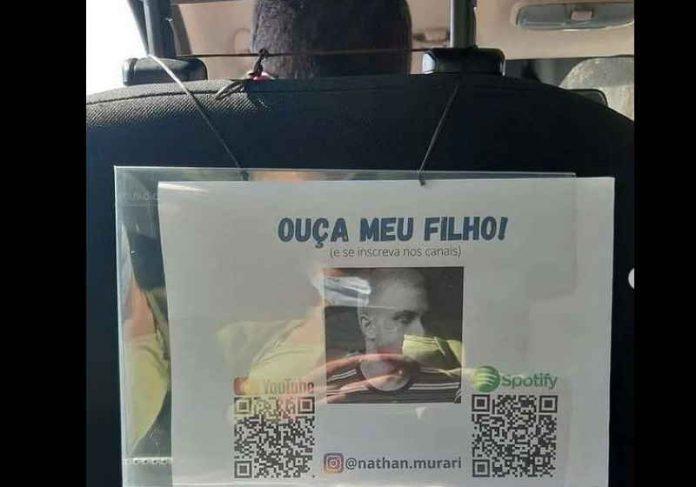 Pai Uber divulga filho músico no próprio carro e ajuda viraliza